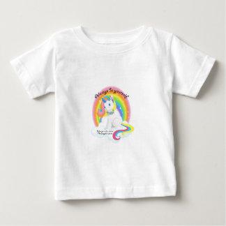 Camiseta De Bebé Sea usted mismo. Diseño mágico del unicornio