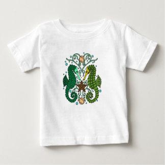 Camiseta De Bebé Seahorses