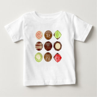 Camiseta De Bebé Selección de caramelos de chocolate