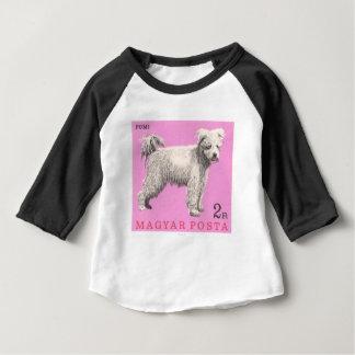 Camiseta De Bebé Sello 1967 del perro de Hungría Pumi
