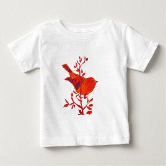 Camiseta De Bebé Selva floral del safari del elefante