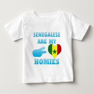 Camiseta De Bebé Senegaleses son mi Homies