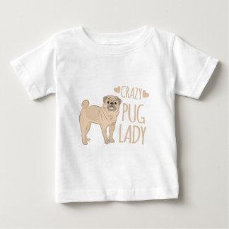 Camiseta De Bebé señora loca del barro amasado