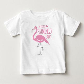 Camiseta De Bebé Señora loca del flamenco