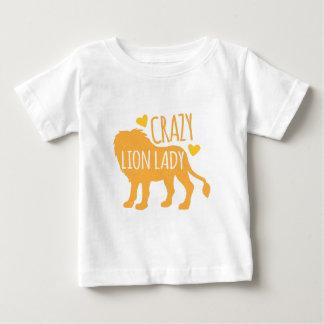 Camiseta De Bebé señora loca del león