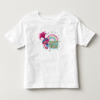 Camiseta De Bebé Sensación feliz de la amapola de los duendes el  