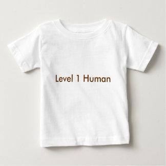 Camiseta De Bebé Ser humano del nivel 1