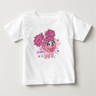 Camiseta De Bebé Sesame Street el | Abby Cadabby - chispa y brillo