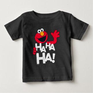 Camiseta De Bebé ¡Sesame Street el   Elmo - ha ha ha!