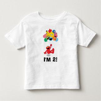 Camiseta De Bebé Sesame Street el   Elmo y Pals - 2do cumpleaños