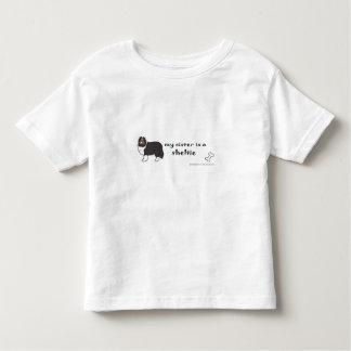Camiseta De Bebé sheltie