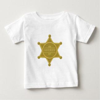 Camiseta De Bebé Sheriff