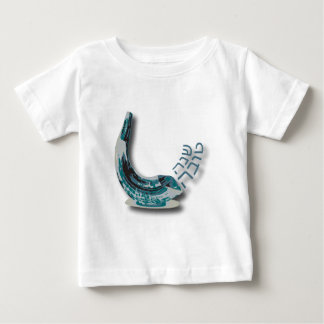 Camiseta De Bebé Shofer azul Shana Tova