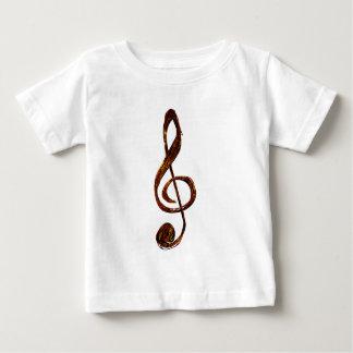 Camiseta De Bebé Siempre en el triple - ropa del Clef agudo