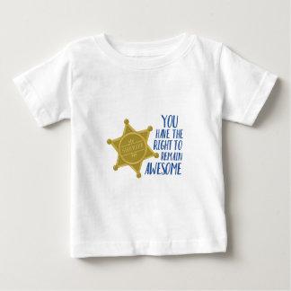 Camiseta De Bebé Siga siendo impresionante