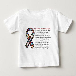 Camiseta De Bebé Significado de la cinta del autismo