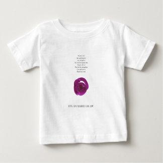 Camiseta De Bebé Silencio - poesía de Jessica Fuqua