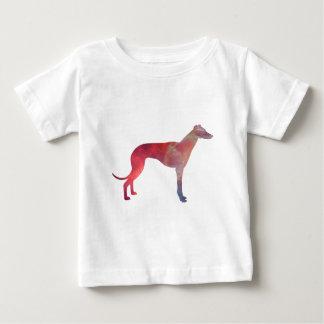 Camiseta De Bebé Silueta del cosmos del galgo