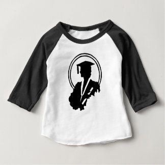 Camiseta De Bebé Silueta graduada de la hembra