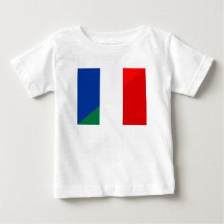 Camiseta De Bebé símbolo del país de la bandera de Italia Francia