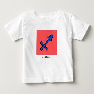 Camiseta De Bebé Símbolo del sagitario