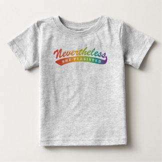 Camiseta De Bebé Sin embargo, nos opusimos