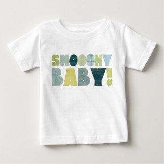 Camiseta De Bebé Smoochy Baby! Blue&Green