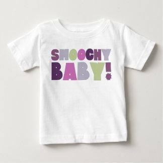 Camiseta De Bebé Smoochy Baby! Lavender