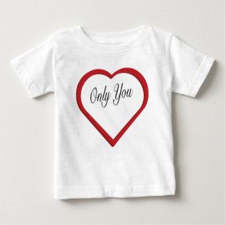Camiseta De Bebé Solamente usted