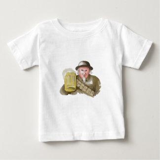 Camiseta De Bebé Soldado del tío Sam WW1 que tuesta la acuarela de