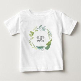 Camiseta De Bebé Sonrisas finas de la planta de las hierbas II el |