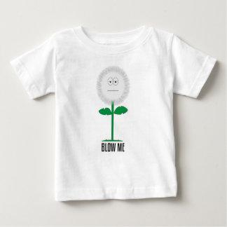 Camiseta De Bebé Sópleme diente de león