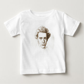 Camiseta De Bebé Søren Kierkegaard - filósofo existencialista
