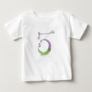 Camiseta De Bebé Soy 3 años de viejo de diseño tony de los