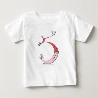 Camiseta De Bebé Soy 5 años de viejo de diseño tony de los