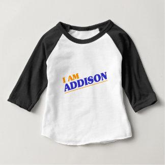 Camiseta De Bebé Soy Addison