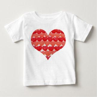 Camiseta De Bebé Soy corazones pequeños de un caramelo del Sweety