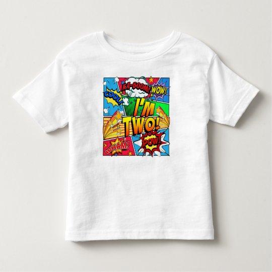 Camiseta De Bebé Soy el cómic dos