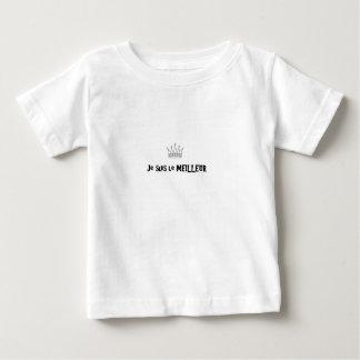 Camiseta De Bebé Soy el mejor