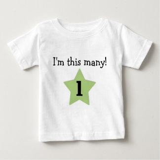 Camiseta De Bebé ¡Soy estos muchos!