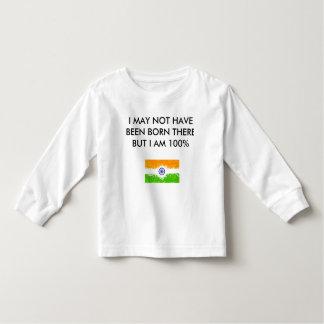 Camiseta De Bebé Soy indio
