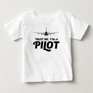 Camiseta De Bebé Soy piloto