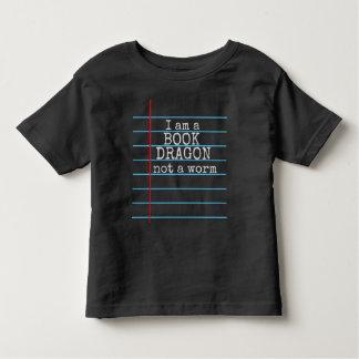 """Camiseta De Bebé """"Soy un DRAGÓN del LIBRO no tablero de tiza de un"""