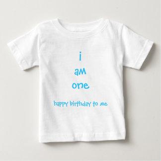 Camiseta De Bebé soy uno