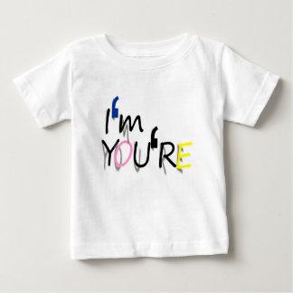 Camiseta De Bebé soy usted soy diseño