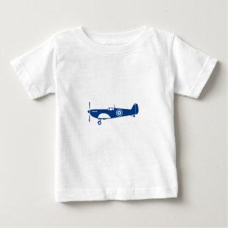 Camiseta De Bebé Spitfire del avión de combate de la guerra mundial