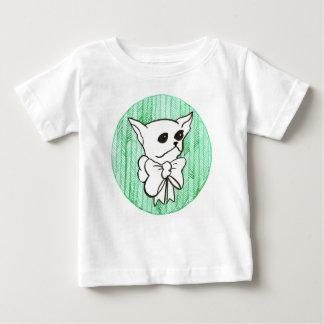 Camiseta De Bebé Sr. PiddlePoo la chihuahua, una visión en verde
