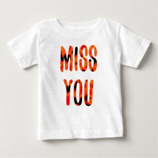 Camiseta De Bebé Srta. usted