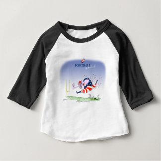 Camiseta De Bebé Steamroller del fútbol, fernandes tony