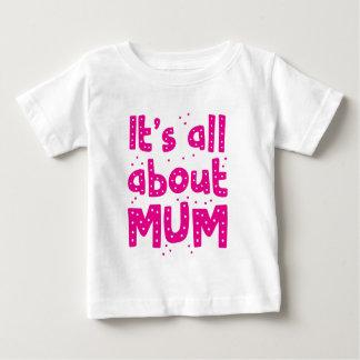 Camiseta De Bebé su todo alrededor momia